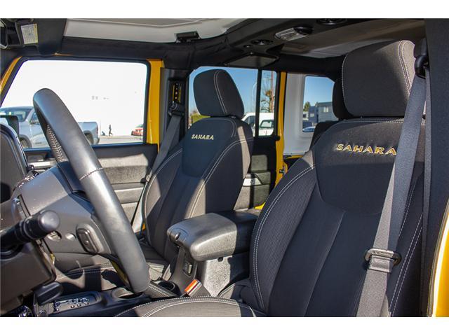 2015 Jeep Wrangler Unlimited Sahara (Stk: EE899760) in Surrey - Image 8 of 20