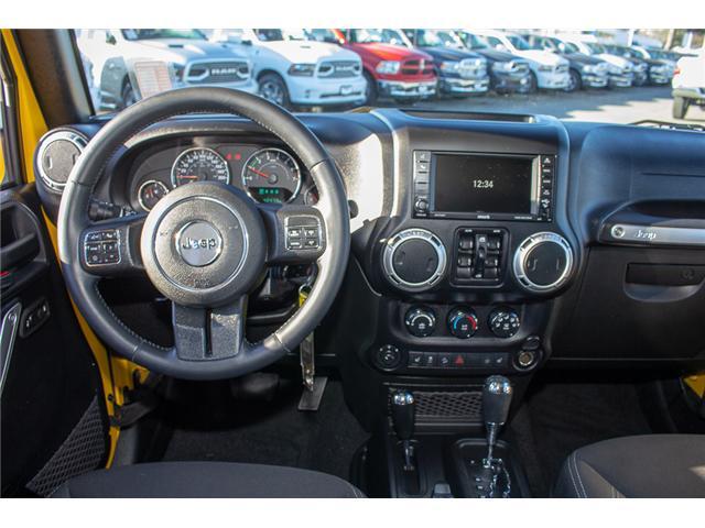 2015 Jeep Wrangler Unlimited Sahara (Stk: EE899760) in Surrey - Image 11 of 20