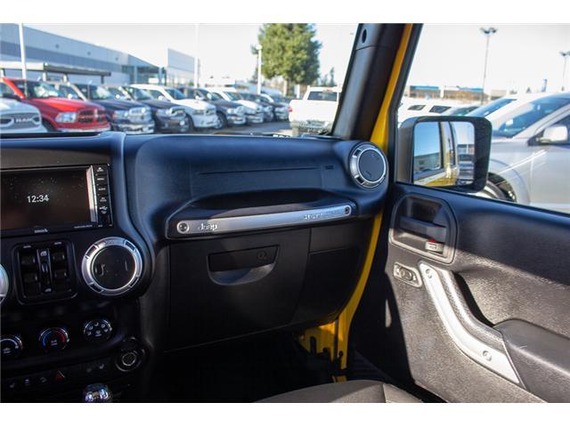 2015 Jeep Wrangler Unlimited Sahara (Stk: EE899760) in Surrey - Image 12 of 20