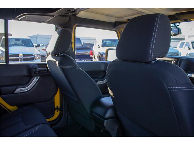 2015 Jeep Wrangler Unlimited Sahara (Stk: EE899760) in Surrey - Image 13 of 20