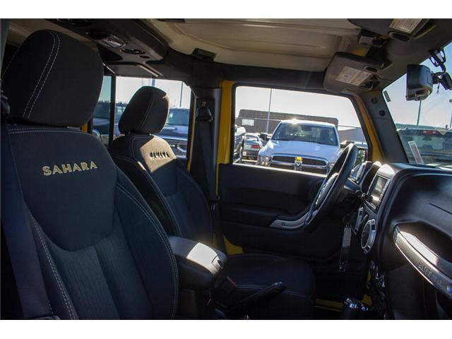 2015 Jeep Wrangler Unlimited Sahara (Stk: EE899760) in Surrey - Image 15 of 20