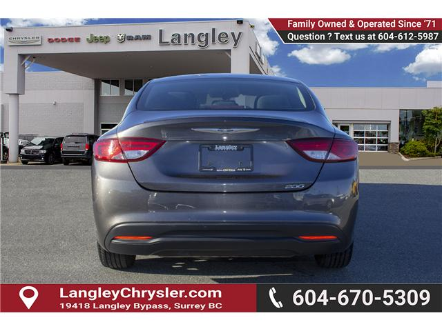 2016 Chrysler 200 LX (Stk: J172896A) in Surrey - Image 5 of 23