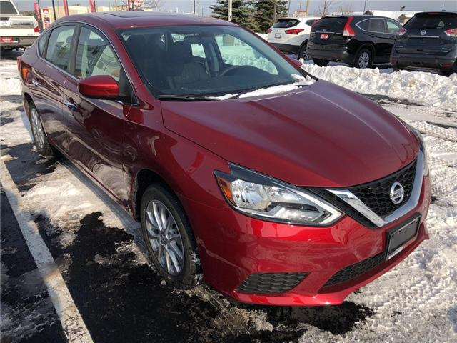 2019 Nissan Sentra 1.8 SV (Stk: 19055) in Barrie - Image 2 of 4
