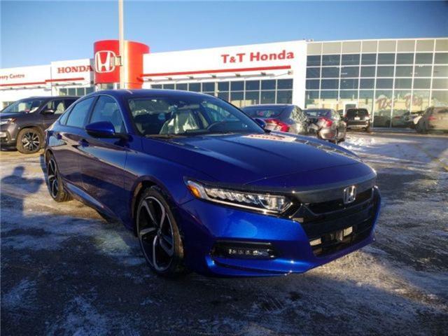 2019 Honda Accord Sport 1.5T (Stk: 2190259) in Calgary - Image 1 of 9