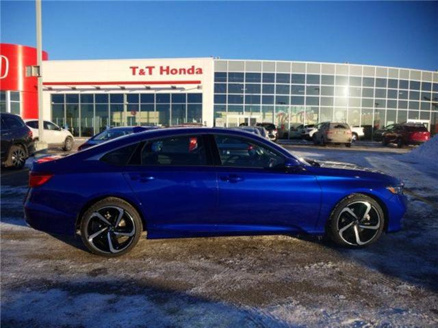 2019 Honda Accord Sport 1.5T (Stk: 2190259) in Calgary - Image 2 of 9