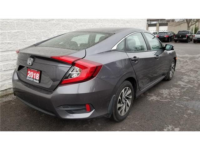 2018 Honda Civic EX (Stk: 18069) in Kingston - Image 6 of 27