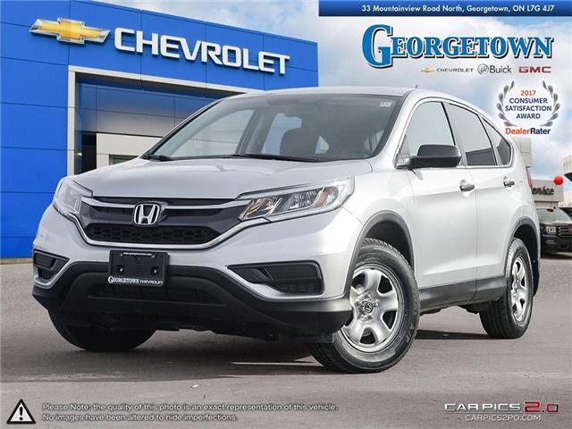 2016 Honda CR-V LX (Stk: 28687) in Georgetown - Image 1 of 27