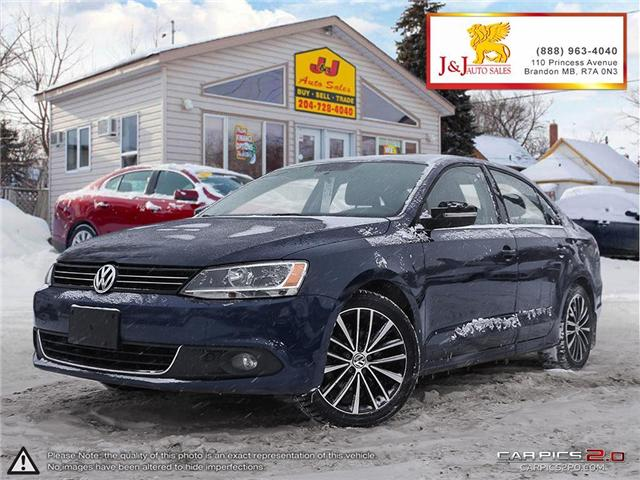 2014 Volkswagen Jetta 2.0 TDI Highline (Stk: J18121) in Brandon - Image 1 of 27