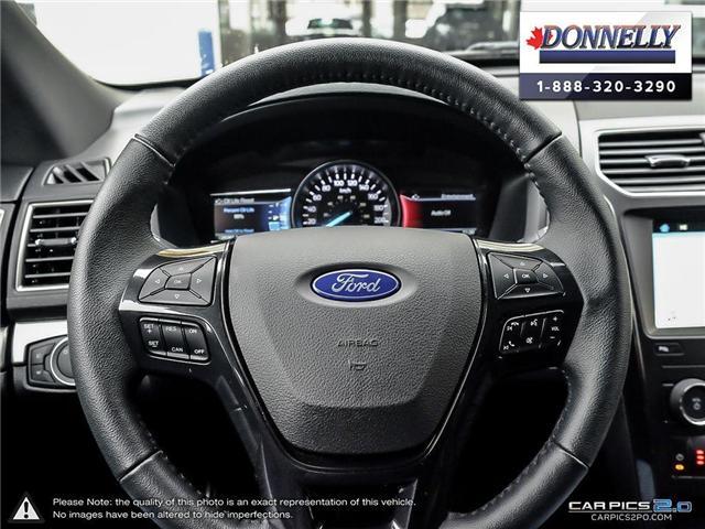 2018 Ford Explorer XLT (Stk: PLDUR5949) in Ottawa - Image 14 of 28