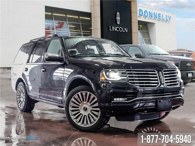 2017 Lincoln Navigator Select (Stk: PLDUR5973) in Ottawa - Image 1 of 27