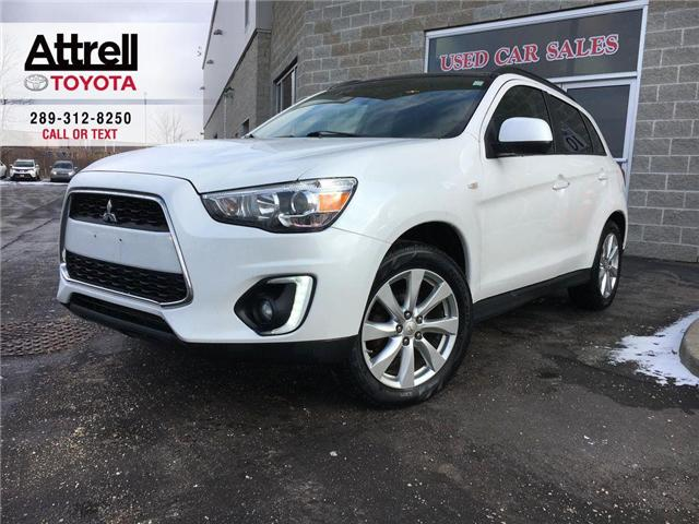 2015 Mitsubishi RVR GT AWD LEATHER, SUNROOF, ALLOYS, FOG LAMPS, POWER  (Stk: 42922A) in Brampton - Image 1 of 24