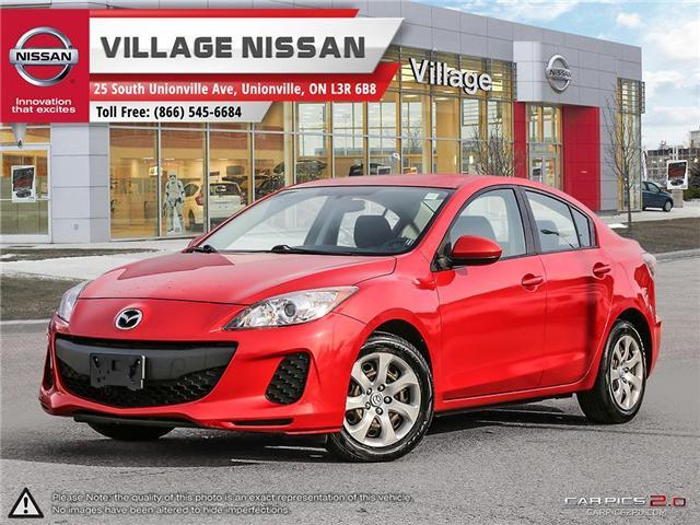 2013 Mazda Mazda3 GX (Stk: 80156B) in Unionville - Image 1 of 27