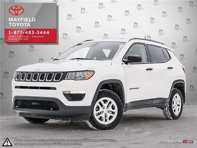 2018 Jeep Compass Sport (Stk: 1802310A) in Edmonton - Image 1 of 27
