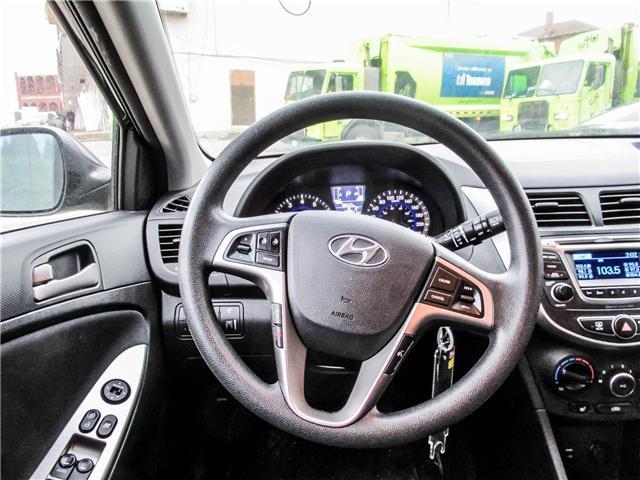 2015 Hyundai Accent GL (Stk: U06358) in Toronto - Image 10 of 13
