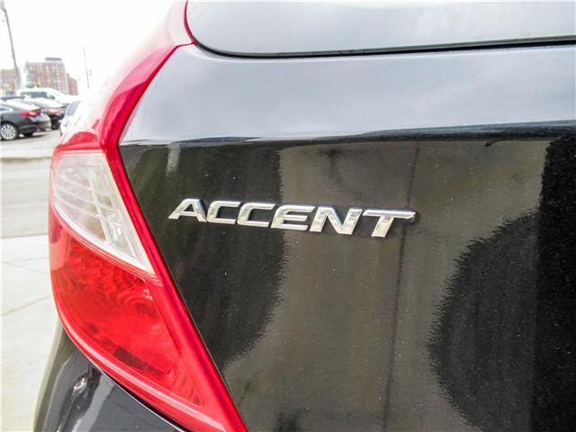 2015 Hyundai Accent GL (Stk: U06358) in Toronto - Image 12 of 13