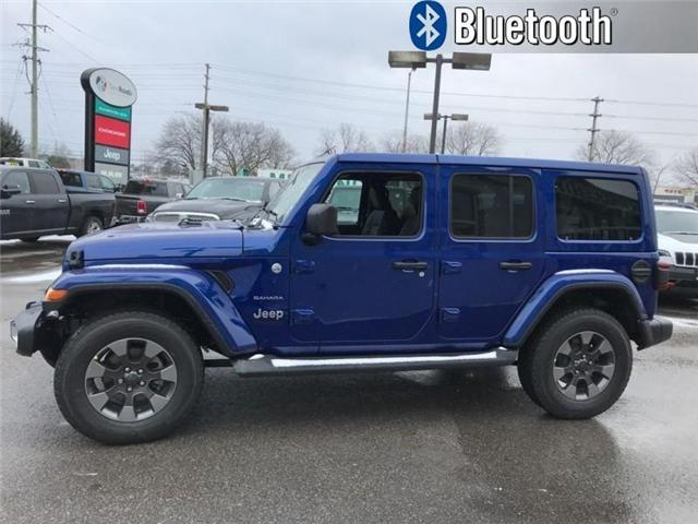 2018 Jeep Wrangler Unlimited Sahara (Stk: W18583) in Newmarket - Image 2 of 17