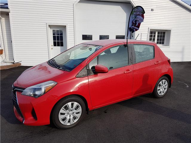 2017 Toyota Yaris LE (Stk: 829) in Oromocto - Image 1 of 13