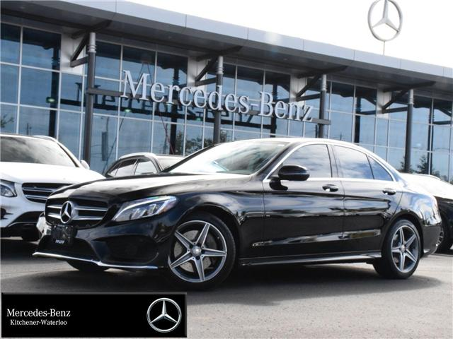 2016 Mercedes-Benz C-Class Base (Stk: U3667) in Kitchener - Image 1 of 30