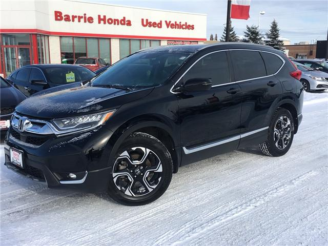 2017 Honda CR-V Touring (Stk: U17255) in Barrie - Image 1 of 15