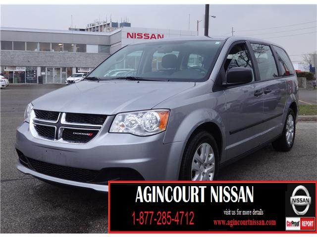 2016 Dodge Grand Caravan SE/SXT (Stk: KC707741A) in Scarborough - Image 1 of 18