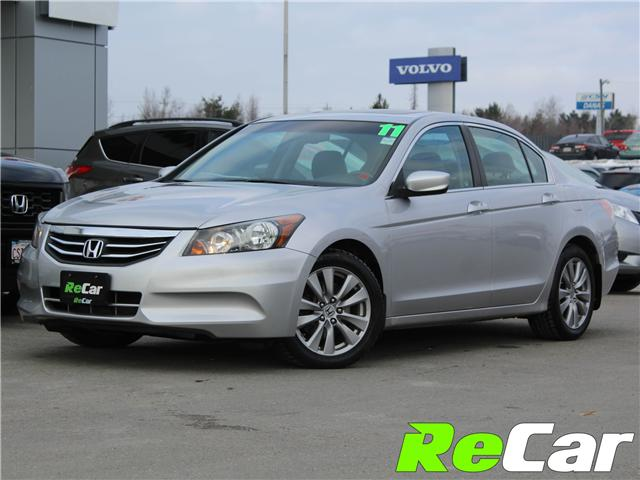 2011 Honda Accord EX-L (Stk: 181354A) in Fredericton - Image 1 of 24