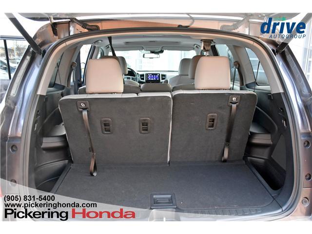 2018 Honda Pilot EX-L Navi (Stk: P4564) in Pickering - Image 14 of 27