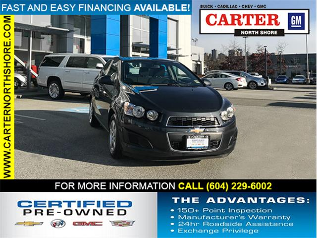 2015 Chevrolet Sonic LT Auto (Stk: 971480) in North Vancouver - Image 1 of 26