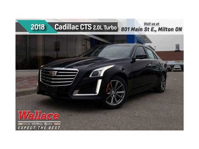 2018 Cadillac CTS 2.0L Turbo Luxury (Stk: 141649) in Milton - Image 1 of 12