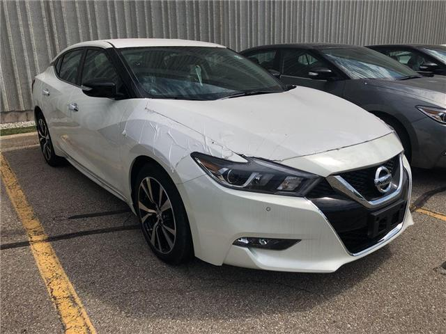 2018 Nissan Maxima SV (Stk: X3100) in Burlington - Image 1 of 3