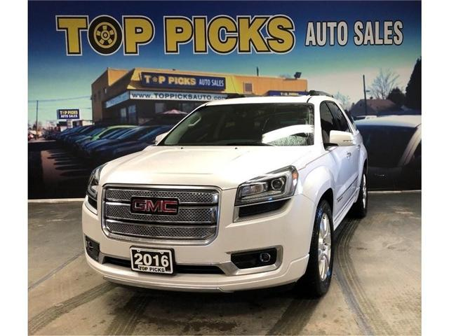 2016 GMC Acadia Denali (Stk: 219016) in NORTH BAY - Image 1 of 30