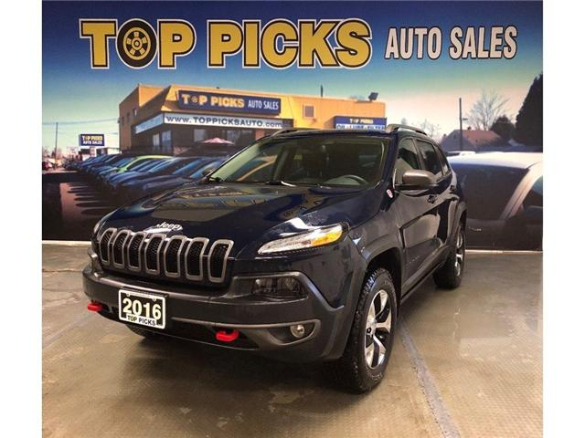 2016 Jeep Cherokee Trailhawk (Stk: 358695) in NORTH BAY - Image 1 of 17