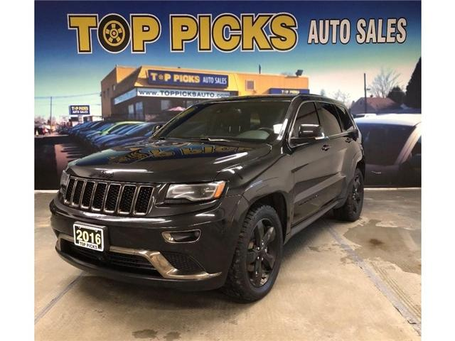 2016 Jeep Grand Cherokee Overland (Stk: 316166) in NORTH BAY - Image 1 of 30