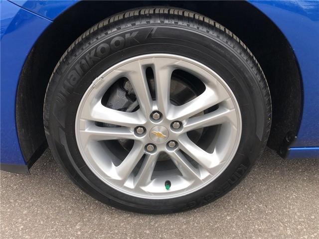 2016 Chevrolet Cruze LT|Auto|SUNROOF|BOSE|HEATED SEATS| (Stk: 163300A) in BRAMPTON - Image 8 of 16
