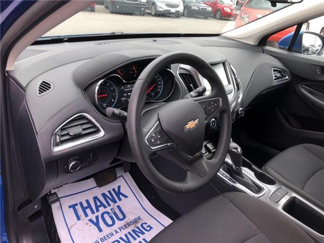 2016 Chevrolet Cruze LT|Auto|SUNROOF|BOSE|HEATED SEATS| (Stk: 163300A) in BRAMPTON - Image 9 of 16