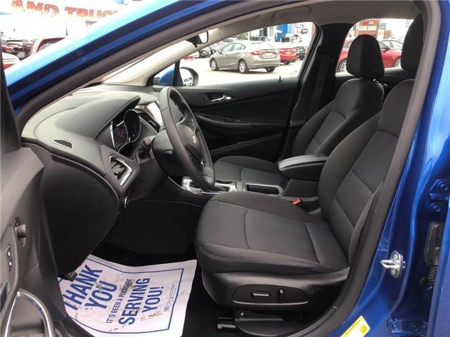 2016 Chevrolet Cruze LT|Auto|SUNROOF|BOSE|HEATED SEATS| (Stk: 163300A) in BRAMPTON - Image 10 of 16