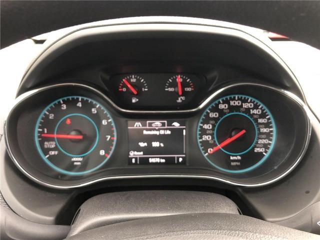 2016 Chevrolet Cruze LT|Auto|SUNROOF|BOSE|HEATED SEATS| (Stk: 163300A) in BRAMPTON - Image 12 of 16