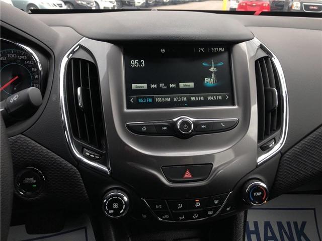 2016 Chevrolet Cruze LT|Auto|SUNROOF|BOSE|HEATED SEATS| (Stk: 163300A) in BRAMPTON - Image 14 of 16