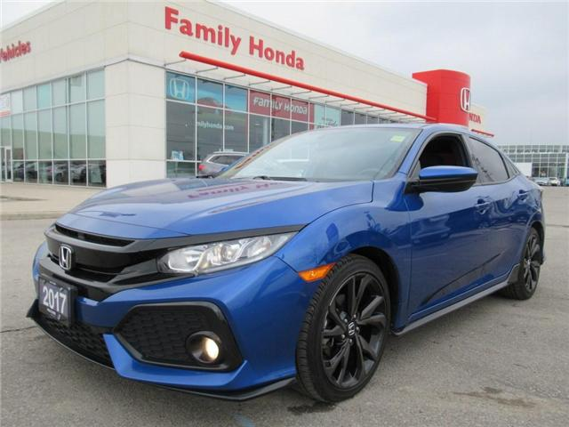 2017 Honda Civic Sport, WOW! LIKE NEW!!! (Stk: U03346) in Brampton - Image 1 of 27