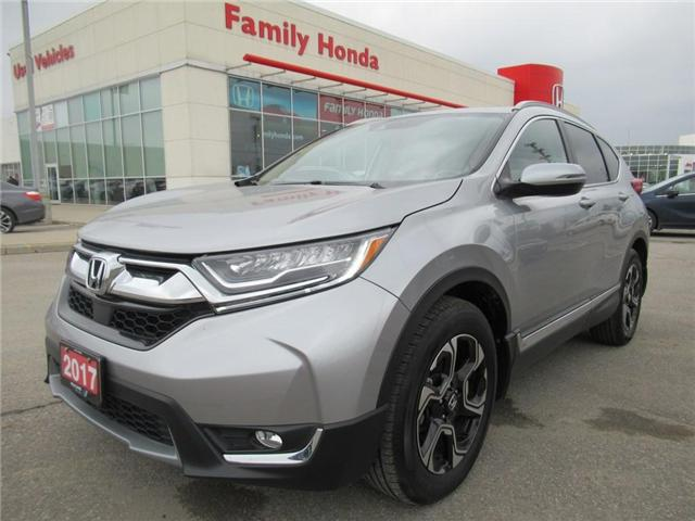 2017 Honda CR-V Touring, HONDA CERTIFIED! (Stk: 8132656A) in Brampton - Image 1 of 30
