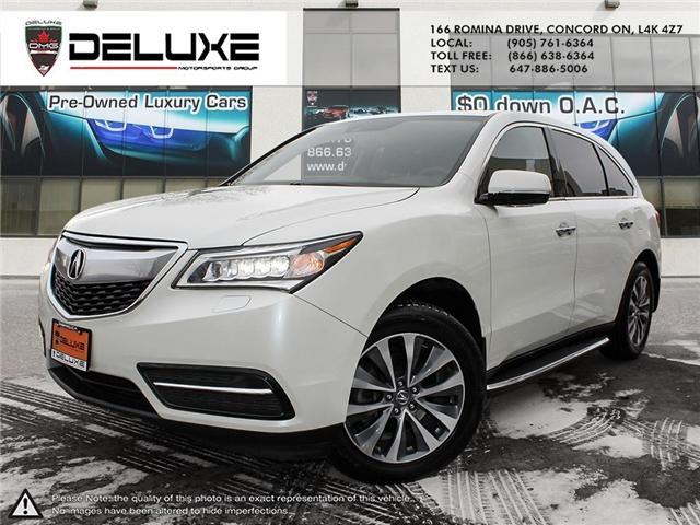 2015 Acura MDX Technology Package (Stk: D0509) in Concord - Image 1 of 20