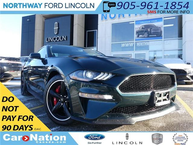 2019 Ford Mustang BULLITT | NAV | RECARO LEATHER | REAR CAM | V8 | (Stk: C043) in Brantford - Image 1 of 27