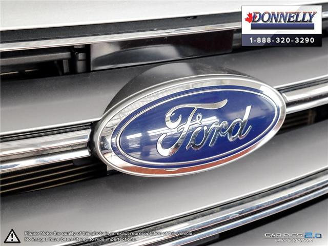 2017 Ford Edge SEL (Stk: PLDUR5976) in Ottawa - Image 8 of 28
