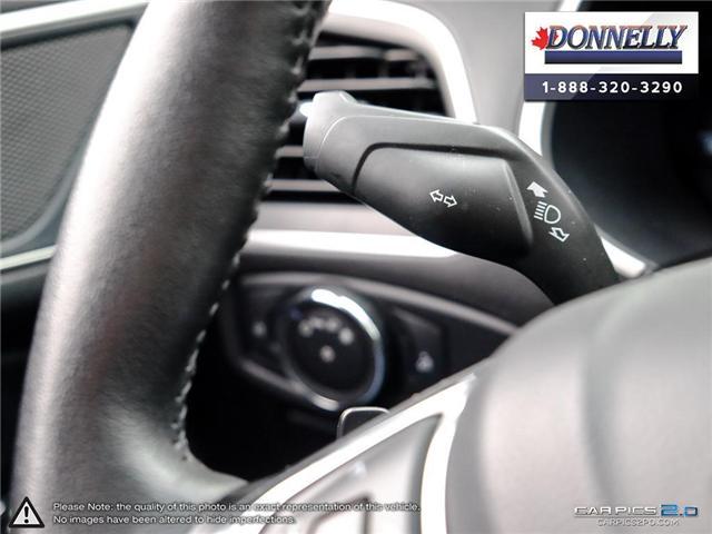 2017 Ford Edge SEL (Stk: PLDUR5976) in Ottawa - Image 16 of 28