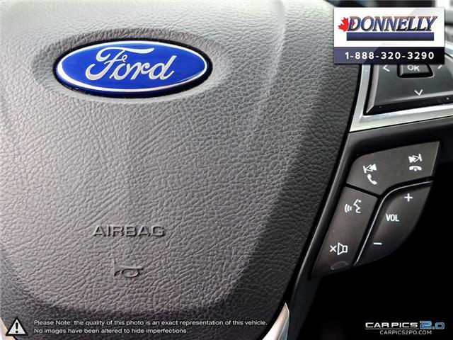 2017 Ford Edge SEL (Stk: PLDUR5976) in Ottawa - Image 18 of 28