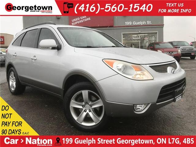 2008 Hyundai Veracruz GLS | V6 | AWD | DVD | 7 PASS | LEATHER | SUNROOF (Stk: P11652) in Georgetown - Image 1 of 30