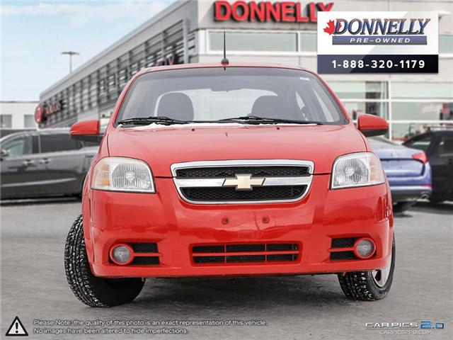 2009 Chevrolet Aveo LT (Stk: PBWMS8A) in Kanata - Image 2 of 27