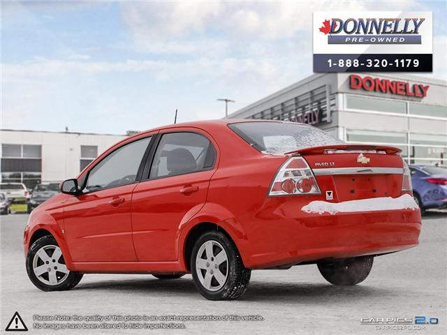 2009 Chevrolet Aveo LT (Stk: PBWMS8A) in Kanata - Image 4 of 27