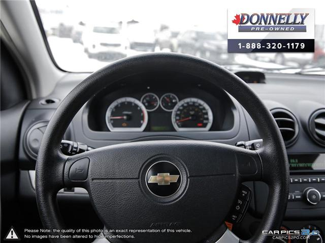 2009 Chevrolet Aveo LT (Stk: PBWMS8A) in Kanata - Image 14 of 27
