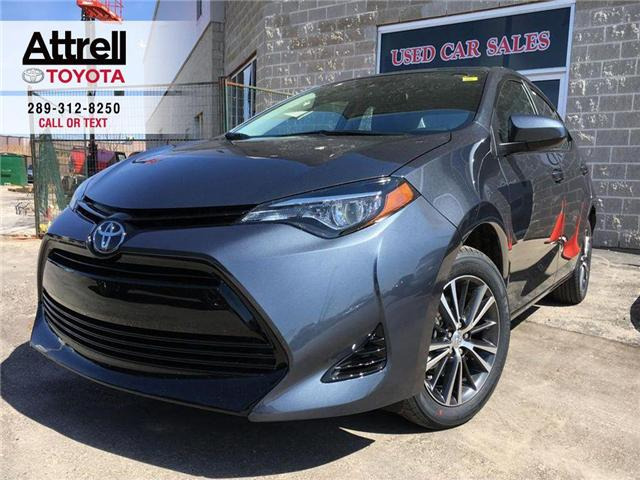 2019 Toyota Corolla LE UPGRADE PACKAGE (Stk: 43017) in Brampton - Image 1 of 25