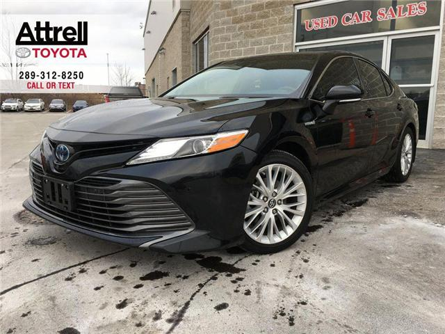 2018 Toyota Camry XLE HYBRID LEATHER, NAVIGATION, ALLOYS, FOG, TSS-P (Stk: 42902A) in Brampton - Image 1 of 29